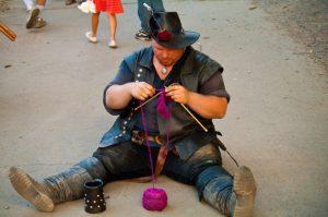 День публичного вязания